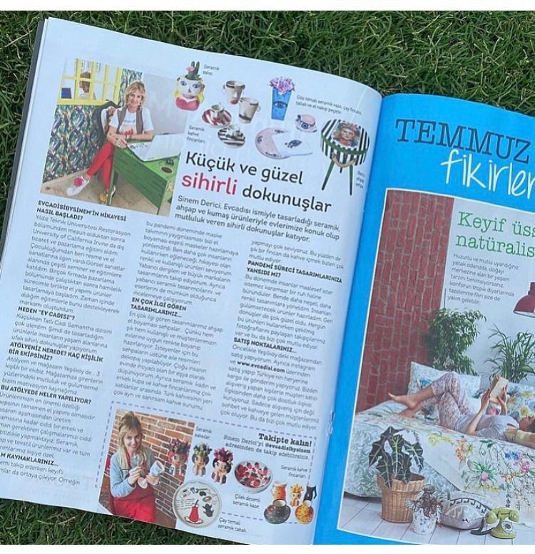 Evim Dergisi Temmuz Sayısı