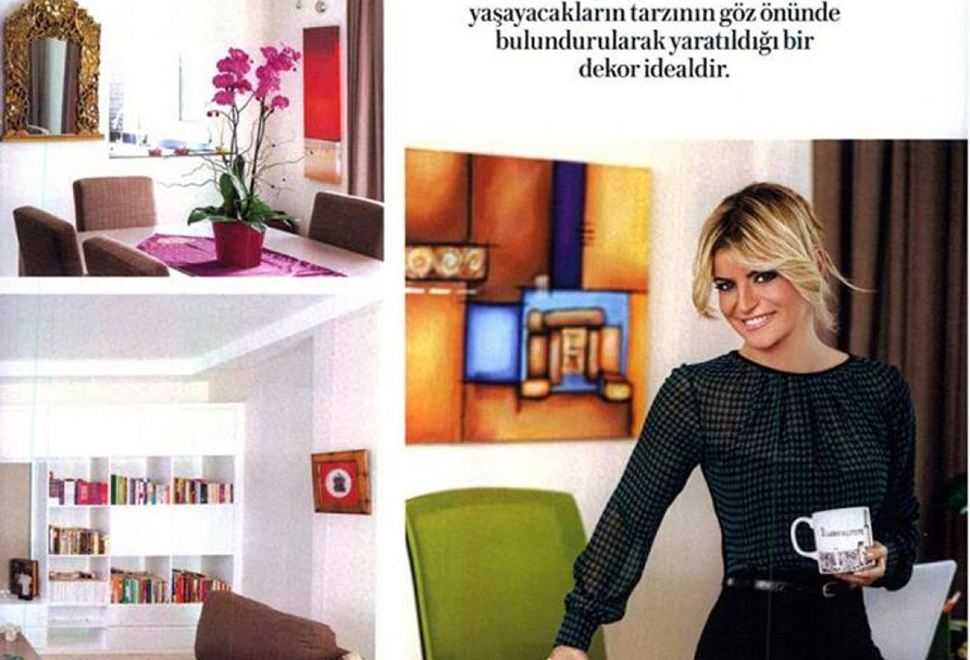 Evcadısı Ürünleri Instyle Home Şubat Sayısında