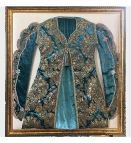 Osmanlı Kumaşından Kaftan Çerçeve